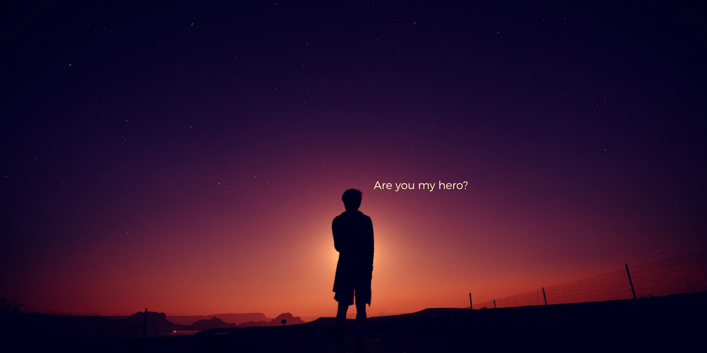 Are you my hero_